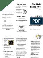 brochure math 8