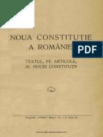 Noua Constituţie a României (1938) Textul, Pe Articole, Al Nouei Constituţii