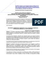 Providencia Administrativa N° 0049 Agentes de Retención de IVA (VIGENTE)