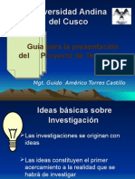 Guia de Presentacion de Proyecto de Tesis