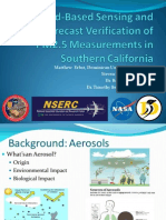 Ground-based sensing and forecast verification of PM2.5 measurements in Southern California