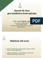 Curso Geoestadsistica Lineal