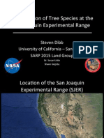 Using high-resolution topography and hyperspectral data to classify tree species at the San Joaquin Experimental Range