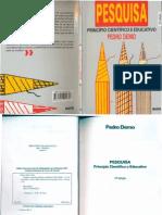 Livro Pedo Demo - Pesquisa Como Princio Educativo.pdf