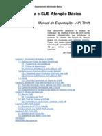 ManualExportacao Thrift E-SUSABv1 3