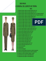 DIEN-FM-000 - Uniformidad General Del Ejército de Tierra
