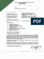 Acuerdo Tabla de Honorarios 2015