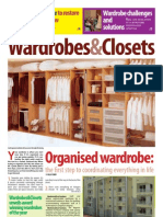 Wardrobes and Closet News and Updates