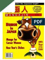 Mangajin62 - Humor in Japan