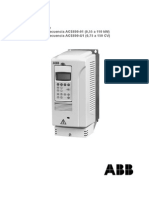 Manual Variador ABB Acs800