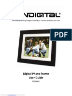"Pandigital Digital Photo Frame 8"" PI8004W01B"