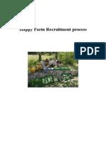 Happy Farm Recruitment