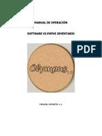 Manual de Operación Olympus Inventario