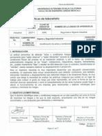 Práctica # 1 Identificación de Actos y Condiciones Inseguras