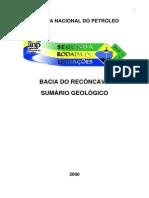 ANP Sumario Geologico Reconcavo