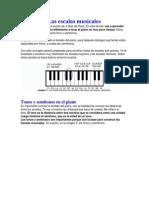 4 Lecciones de Piano