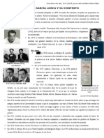 Repartido Sobre García Lorca
