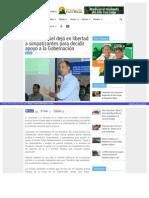 Marcos Daniel dejó en libertad a simpatizantes para decidir apoyo a la Gobernación