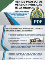 Resumen de Proyectos de Inversión Públicas de La (1)