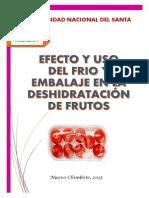 Efectos Del Uso de Frío y Embalaje en La Deshidrtacion Del Fruto (1)