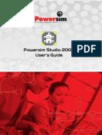 Powersim Studio2003 Users Manual