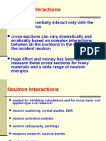 Neutron Interactions_week 2 Wednesday Lecture