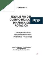 Equilibrio del cuerpo rigido y dinamica de rotacion.pdf