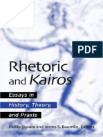 Rhetoric and Kairos. P. Sipiora, J. Baumlin