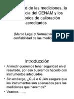 Trazabilidad de Las Mediciones, La Importancia Del CENAM y Los Laboratorios de Calibración Acreditados_m1