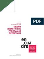 Diseños Didácticos de Programas Operativos