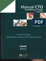 CTO ENARM Anestesiología y Oncología Médica