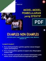 Model Pembelajaran Efektif.