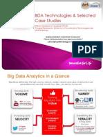 5. BDA Technologies & Selected Case Studies