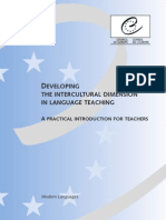 Developing the Intercultural Dimension in Lg Teaching