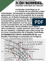 (a) Curvas de Bombas