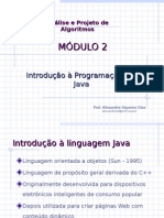 Mod02_Introdução à programação em Java - Análise e Projeto de Algoritmos.ppt