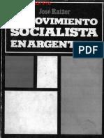 José Ratzer, El Movimiento Socialista en Argentina (Editorial Agora, 1981)