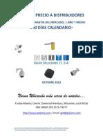 Catalogo de Cctv y Control de Acceso a Distribuidor Octubre 2013