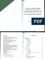 Cognitive Linguistic David Lee