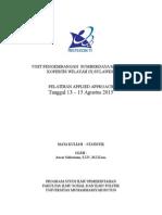 Format Laporan AA UPSDM