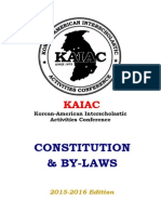 Kaiac Constitution & by-laws 15-16