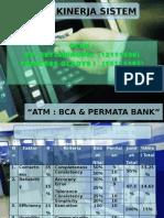 Analisisi Kinerja Sisterm ATM (BCA & Permata)