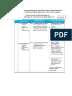 LK-B1.1. Matrik Kompetensi Web Multimedia