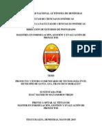 Proyecto Centro Comunitario de Tecnología en el Municipio de Santa Ana, Francisco Morazán