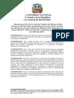 Ley General de Electricidad-No.125-01-Mod.ley No. 186-07