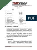 Syllabus de Auditoria ambiental