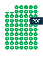 249 KP Horary Numbers in Green