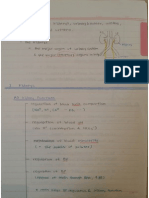 2.0 Urinary System Note