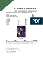 Formas Verbales y Conjugación Del Verbo Inglés