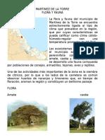 Flora y Fauna de Martinez de la Torre